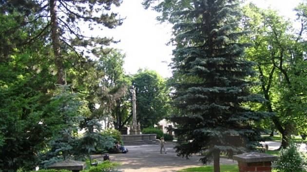 Kromě pročištění parku se rýsuje i další výrazná změna. Radní uvažují i o zprůjezdnění této části Vratislavova náměstí a vybudování dalšího parkoviště.