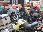 Motorkáři vyrazili na letošní poslední společnou vyjížďku