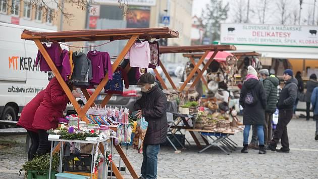 Žďárský adventní trh.