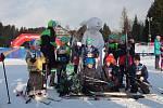 Dopoledne v novoměstské Vysočina Areně patřilo hlavně dětským závodníkům. Po nich přišli na řadu dospělí.
