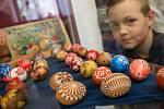 Výstava Velikonoce na Horácku ve Žďáře nad Sázavou.