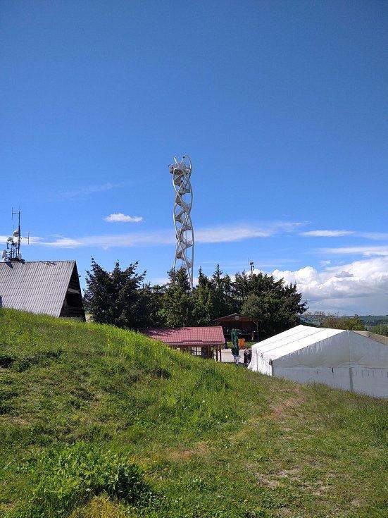 Rozhledna na Fajtově kopci