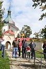 Účastníci akce musí zdolat přes osm desítek schodů vedoucích ke žďárské památce UNESCO - kostelu svatého Jana Nepomuckého na Zelené hoře.