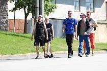 Turistický pochod na Vysočině, ilustrační foto