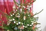 Výstava připomíná Vánoce v době první republiky.