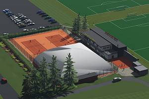 Revitalizace sportovní zóny na Bouchalkách.