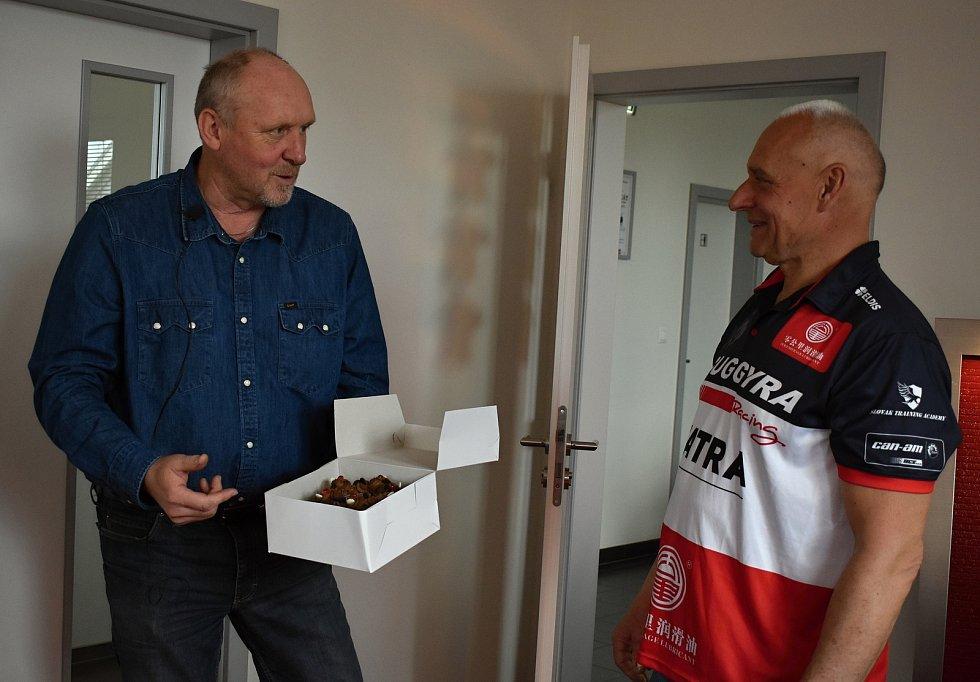 Milan Hájek a Josef Macháček jsou přáteli už dvacet let.