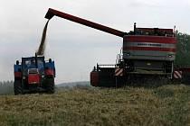 Letošní sklizeň obilovin byla na Žďársku ve srovnání s předchozími lety nadprůměrná.