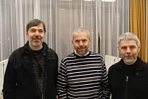 Koncert bratří Davida, Kryštofa a Marka Ebenových.