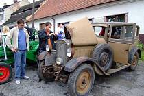Bobrovskou pouť zpestřila výstava veteránů