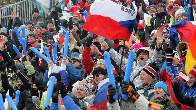 Atmosféra na téměř vyprodaném stadionu Vysočina arény byla opět výborná.