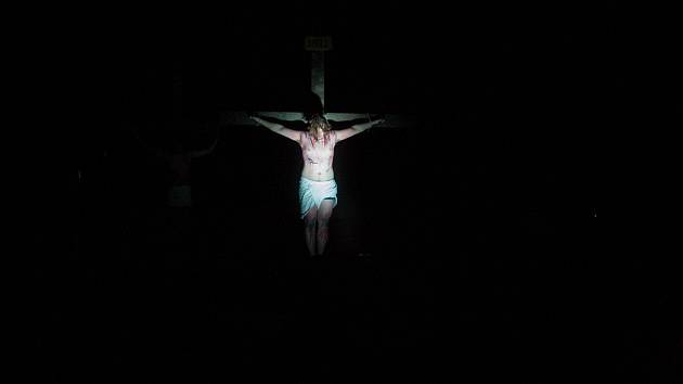 Pašijová hra Co se stalo s Ježíšem.