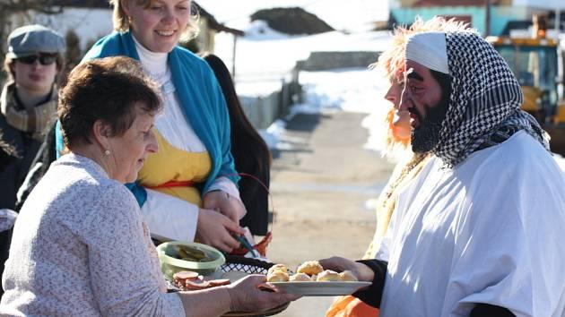 Pochod masopustních maškar s harmonikou zahájí letošní sezonu kulturních akcí v Kadově.