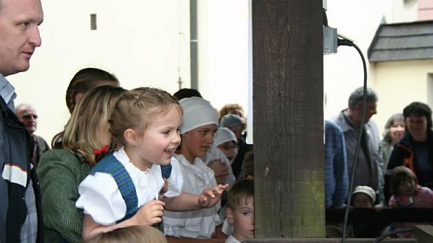 Mlejnek z víru otevírá každoročně turistickou sezonu v Novém Městě na Moravě.