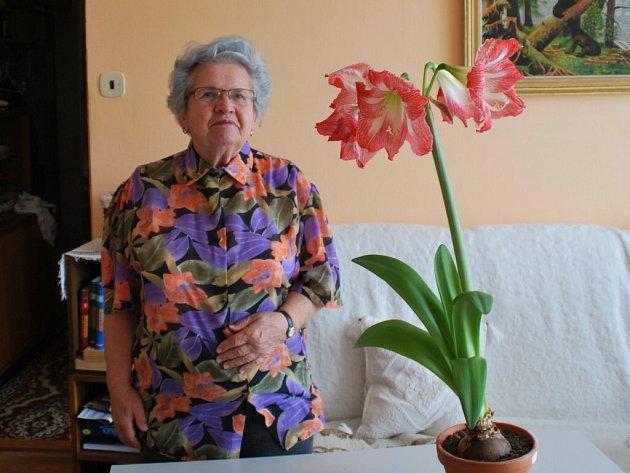 Kamila Muselíková dala domněle uschlé květině ještě šanci a dnes ví, že udělala dobře.