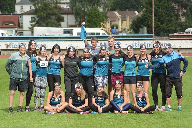Atletky z Nového Města na Moravě (na snímku) v sobotu v Ústí nad Orlicí s velkým přehledem vyhrály třetí kolo II. ligy žen ziskem 205 bodů.