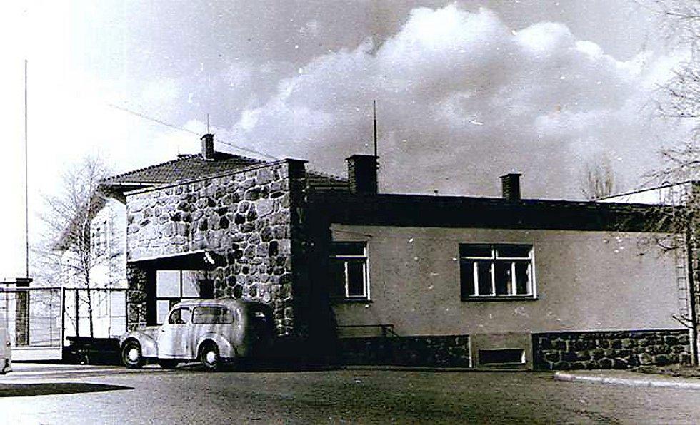 Vrátnice v roce 1953.