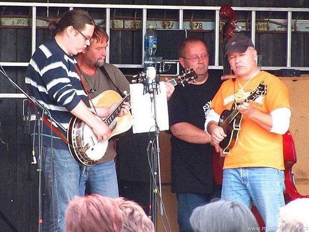 Polenská bluegrassová kapela Fox.