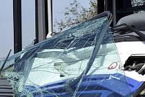 Nehoda autobusu na Žďársku. Ilustrační foto.