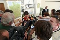 Maturitu Martiny Sáblíkové sledovala kromě nebližších také média.