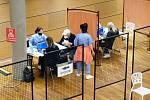 Velké Meziříčí poskytlo prostory, Fakultní nemocnice Brno se zase postarala o zdravotnickou část. Foto: Lucie Málková