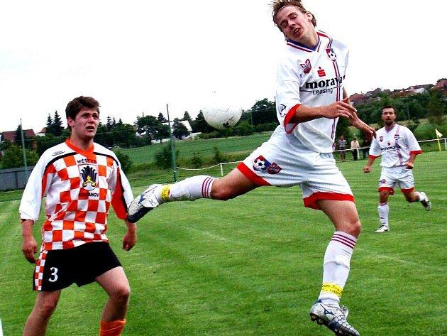 Fotbalisté Křižanova přehráli v přípravě favorizovaný Čebín.