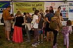 Akce Rozhodni se sám se ve Žďáře již tradičně v závěru prázdnin koná ve Farských humnech.