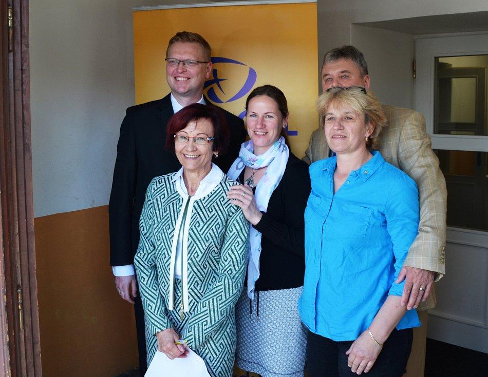Účastníky konference navštívil i předseda KDU-ČSL Pavel Bělobrádek.
