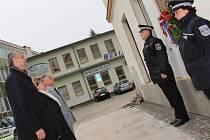 Dosavadní vedení Žďáru stihlo před radniční výměnou ještě uctít státní svátek 28. října.