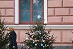 Vánoční stromečky nazdobily děti z 1. základní školy.