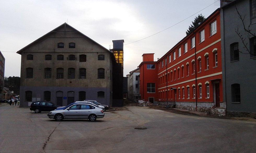 Areál v lokalitě Borovina před revitalizací.