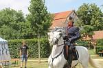 Jedenáctý ročník Svátků řemesel a ušlechtilých koní přivítal i prezidenta.