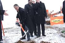 Oficiální zahájení stavby obchvatu.