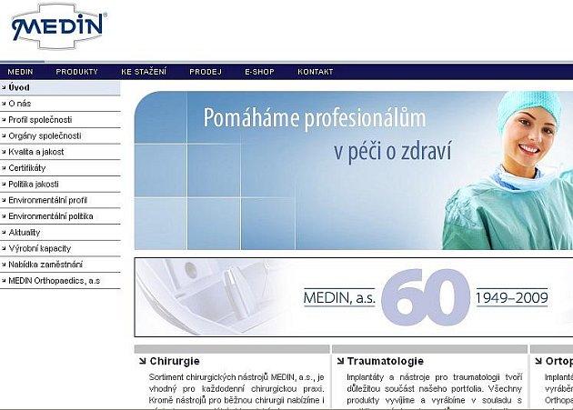 Připomínka výročí na oficiálním webu Medinu.