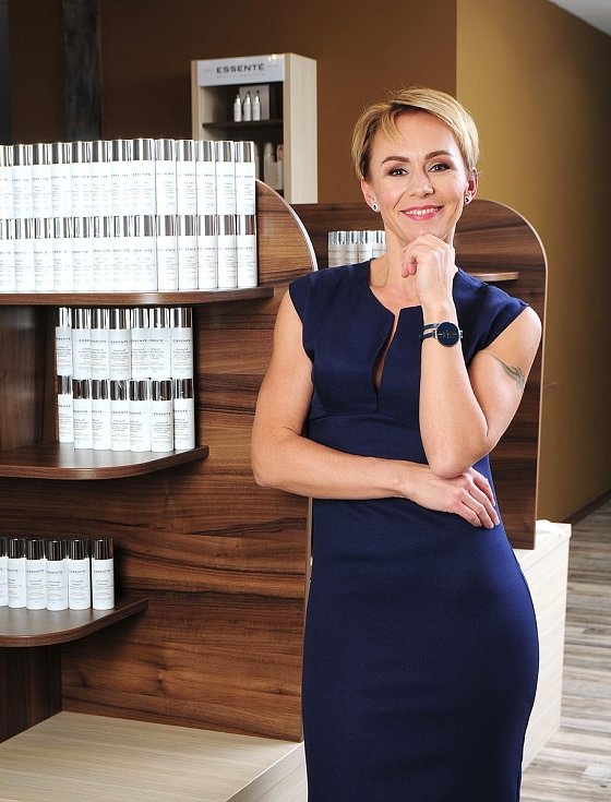 Denisa Jasinská, česká kosmetická firma Essenté