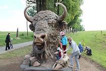 Dětské hřiště v Lužánkách vznikne poblíž Olšiakovy sochy.