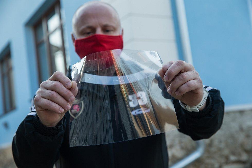 Výroba ochranných štítů WRX