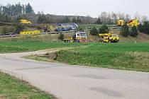 Nehoda u Laviček.
