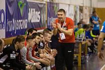Smolnou porážku o jedinou branku musel ve čtvrtečním souboji s Kopřivnicí skousnout trenér Nového Veselí Pavel Hladík.