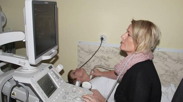Přístroj má s diagnostikou pomoci lékařům nejrůznějších odborností.