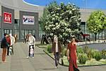 Největší obchodní centrum v Jihlavě vyroste u výpadovky z Jihlavy na Pelhřimov. Zóna Aventin se otevře už za necelé dva roky.