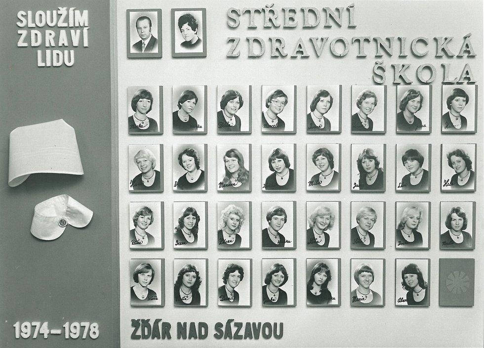 Zdravotnická škola ve Žďáru nad Sázavou v proudu času.