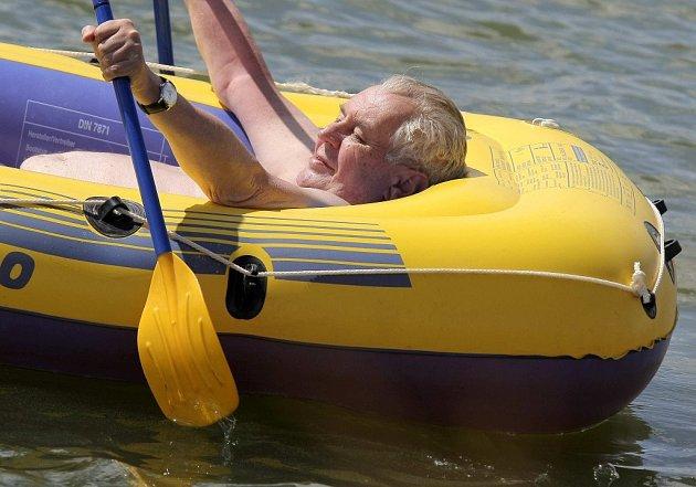 Prezident Miloš Zeman tráví dovolenou v Novém Veselí na Žďársku.