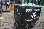 Poslední vozík z dolu Rožná 1