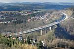 Dálnice u Meziříčí prochází modernizací.