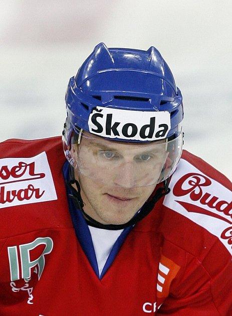 Hokejový útočník Petr Vampola.