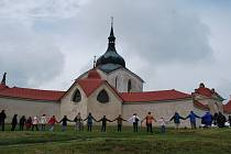 Kostel svatého Jana Nepomuckého na Zelené hoře.