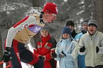 Lukáš Bauer v Novém Městě při Tour de Ski 2007/08