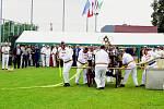 Závody ručních koňských stříkaček jsou s mezinárodní účastí.