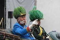 to let od slavných vojenských manévrů, kterých se tehdy zúčastnily mocenské špičky Evropy, si připomněli ve Velkém Meziříčí.